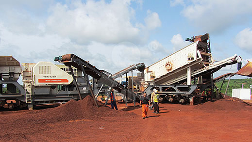 250TPH Iron Ore Processing Project in Zambia